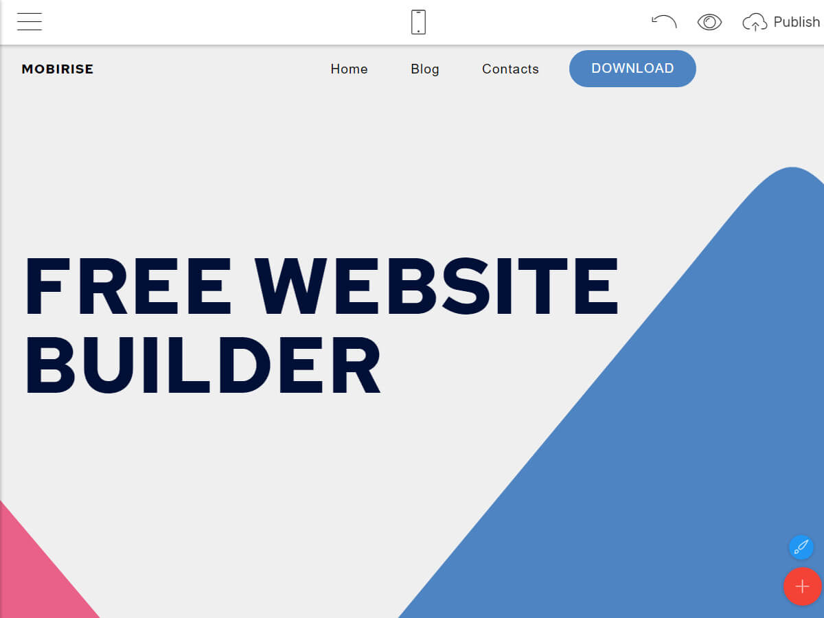 Website Builder App for Windows and Mac