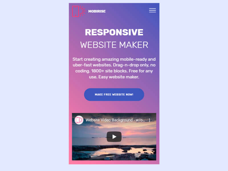 Responsive Website Creator